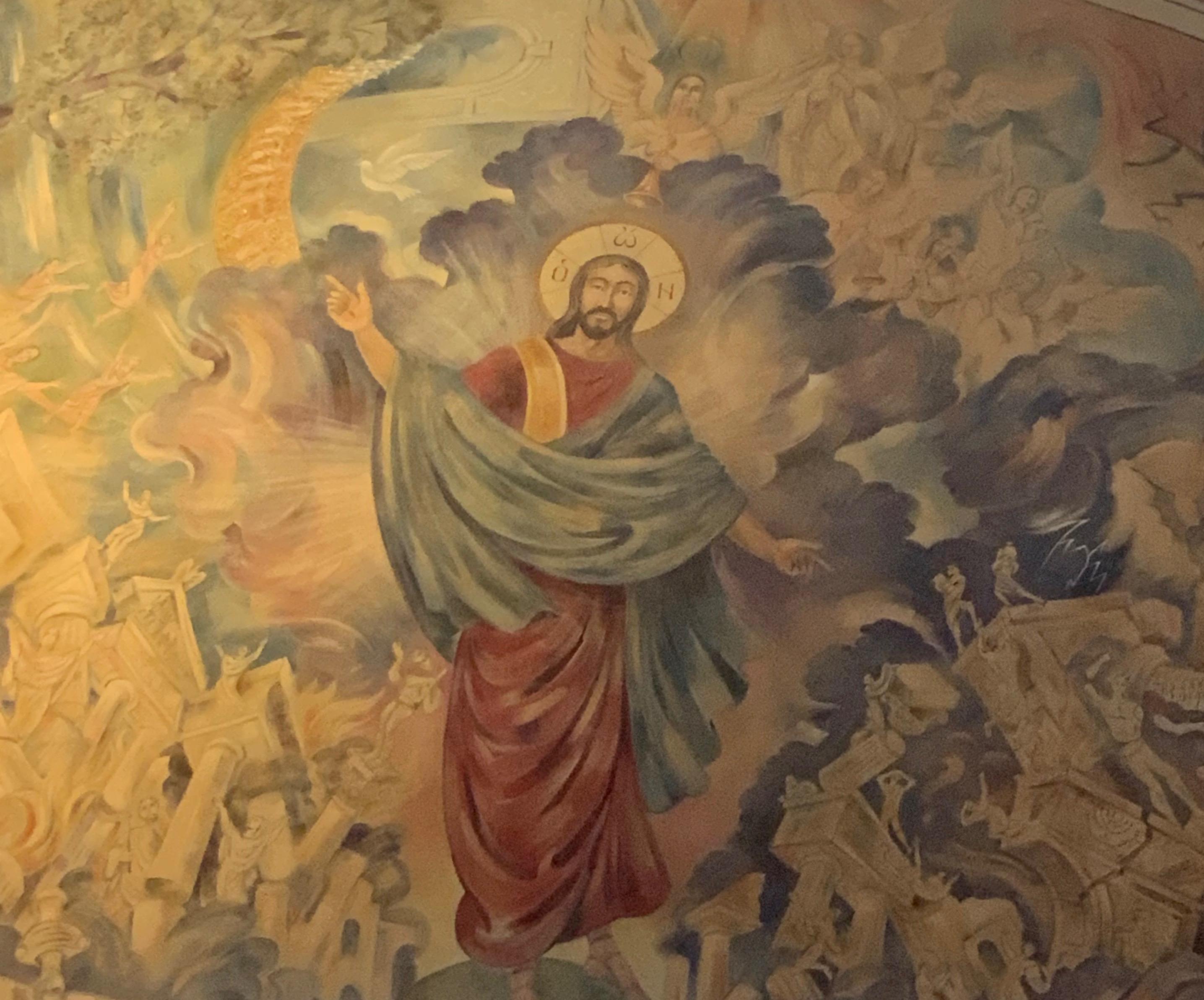 Jesus Last Judgment Lanier Stone Chapel.JPG