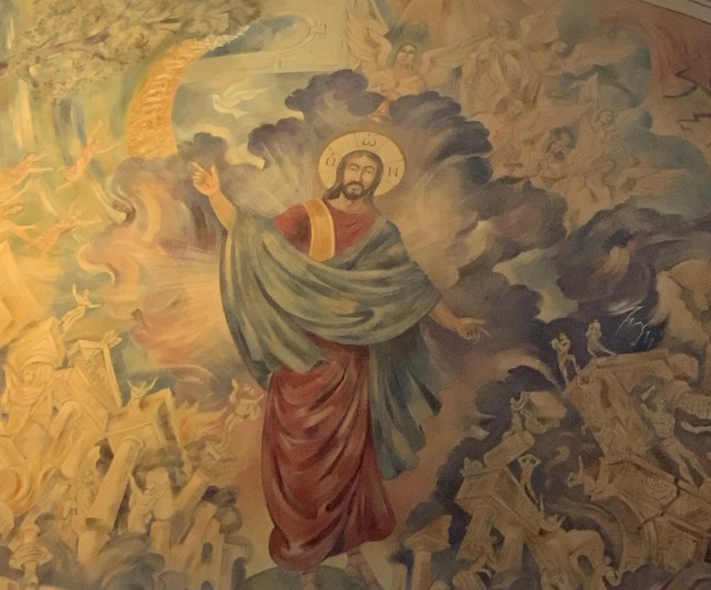 Jesus Last Judgment Lanier Stone Chapel.JPG